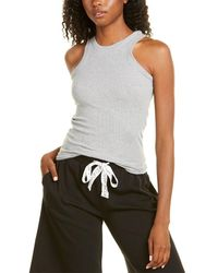 Kendall + Kylie Kendall + Kylie French Terry Rib Tank - Grey