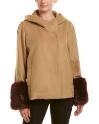 Laundry by Shelli Segal Coat - Natural