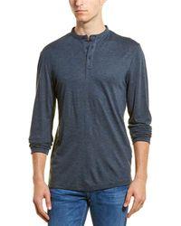 SELECTED Jonny Wool-blend T-shirt - Blue