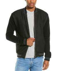 Sol Angeles Roma Bomber Jacket - Black