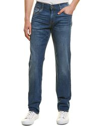 7 For All Mankind 7 For All Mankind Standard Blue Straight Leg Jean