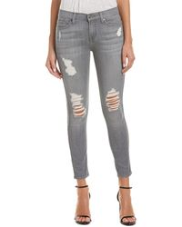 7 For All Mankind 7 For All Mankind Gwenevere Grey Skies 2 Ankle Cut - Gray