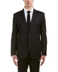Kenneth Cole - New York Wool-blend Suit With Flat Front Pant - Lyst
