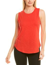 Terez Muscle Tank - Red