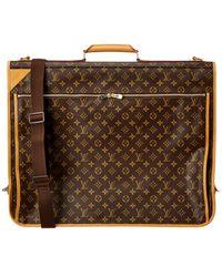 Louis Vuitton Monogram Canvas Garment Bag - Brown
