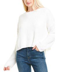 Blank NYC Dolman Sweater - White