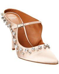 Givenchy Crystal Trimmed 110 Satin Pump - Pink