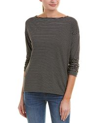 Vince - Striped Top - Lyst