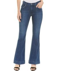 James Jeans Shayebel Flat Victory Flare Leg - Blue