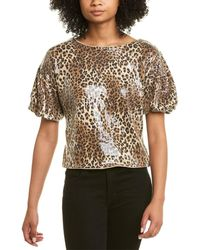 Fate Sequined Top - Brown