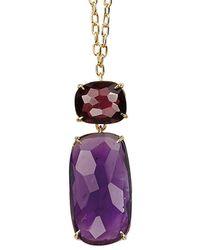 Marco Bicego Murano 18k Gemstone Pendant - Purple