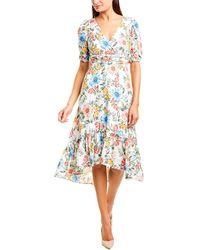 Donna Morgan Midi Dress - White