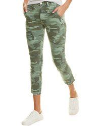 AMO Slouch Trouser - Green