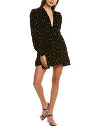 Dodo Bar Or Malenia Velour Dress - Black