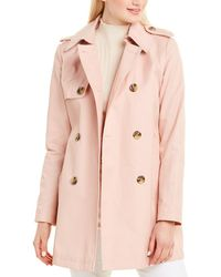 Sam Edelman Double-breasted Trench Coat - Pink
