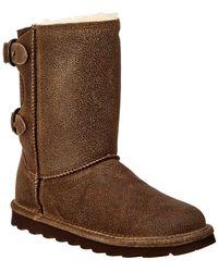 BEARPAW - Clara Never Wet Water-resistant Suede Boot - Lyst