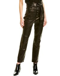 IRO Fekire Leather Pant - Black