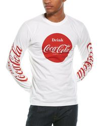 Red Jacket Graphic T-shirt - White