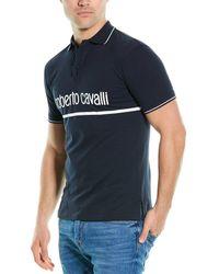 Roberto Cavalli Polo Shirt - Blue
