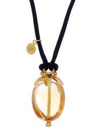 Gurhan - Balloon 24k & Silk 68.70 Ct. Citrine Necklace - Lyst