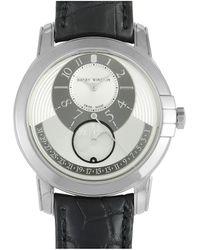 Harry Winston Men's Alligator Leather Watch - Metallic