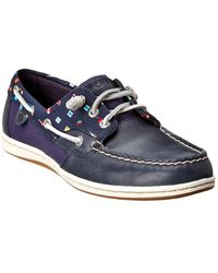 Sperry Top-Sider Songfish Prep Flag Boat Shoe - Blue