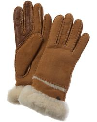 UGG Turn Cuff Gloves - Brown