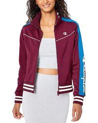 Champion Life® Tricot Track Jacket - Purple