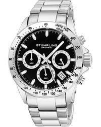 Stuhrling Original Men's Monaco Watch - Metallic