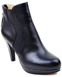 Adrienne Vittadini - Pami Leather Bootie - Lyst