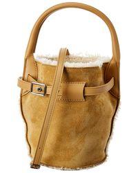 Céline Nano Big Bag Suede Bucket Bag - Multicolour