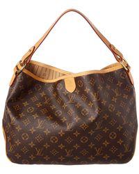939b0fe43cbb Lyst - Louis Vuitton Manosque Gm Bag - Vintage in Brown