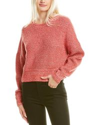 A.L.C. Webster Cashmere & Wool-blend Jumper - Red