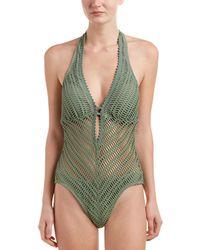Robin Piccone Sophia One-piece - Green