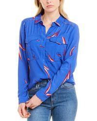 Ba&sh Terry Shirt - Blue