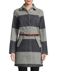 Helly Hansen Embla Wool Dress Coat - Grey