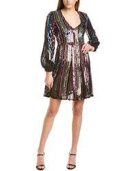 Aidan Mattox Mini Dress - Purple