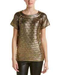 Romeo and Juliet Couture Metallic Sweater - Multicolor