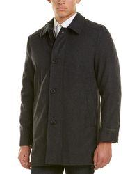 Ike Behar | Seville Wool-blend Coat | Lyst