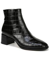 Via Spiga Sahira Leather Bootie - Black