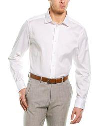 Ermenegildo Zegna Woven Shirt - White