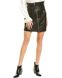 Blank NYC It Takes Two Mini Skirt - Black