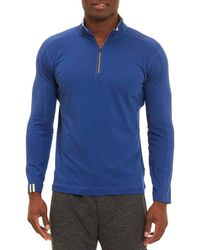 Robert Graham - Owens 1/4- Zip Tailored Fit Pullover - Lyst