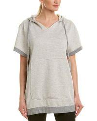The Laundry Room Big Venice Hooded Shift Dress - Gray