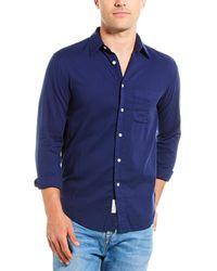 Rag & Bone Fit 3 Classic Beach Shirt - Blue