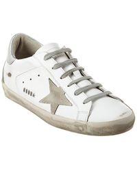 Golden Goose Superstar Leather Sneaker - White