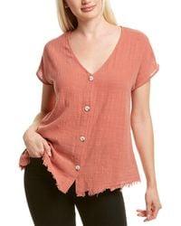 XCVI Wearables Cian Top - Pink