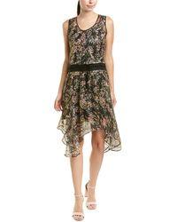 Love Sam Casing Mini Dress - Black