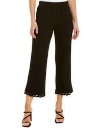 Jonathan Simkhai Rib-knit Cropped Pant - Black