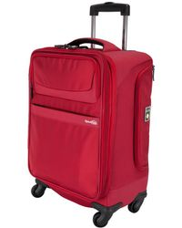Genius Pack 22in Carry-on Spinner - Red
